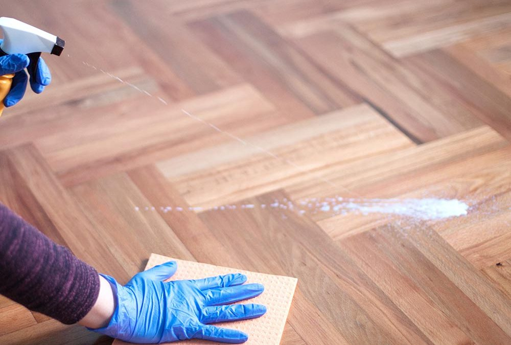 Removing or Stripping The Stain from Hardwood Floors