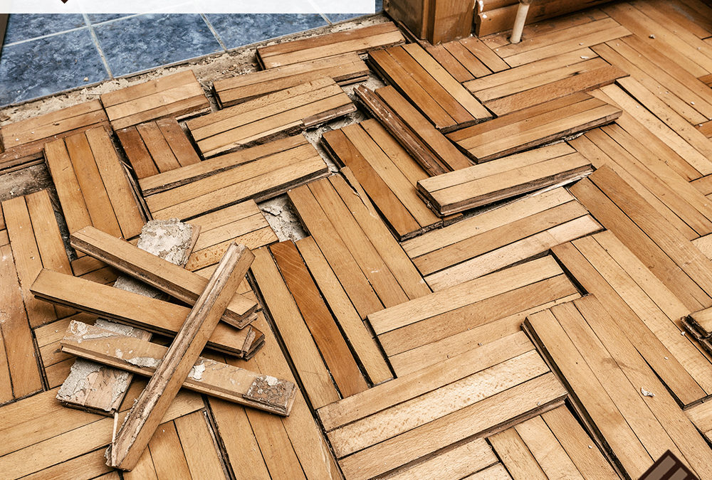 When And How To Fix A Water-Damaged Bathroom Floor