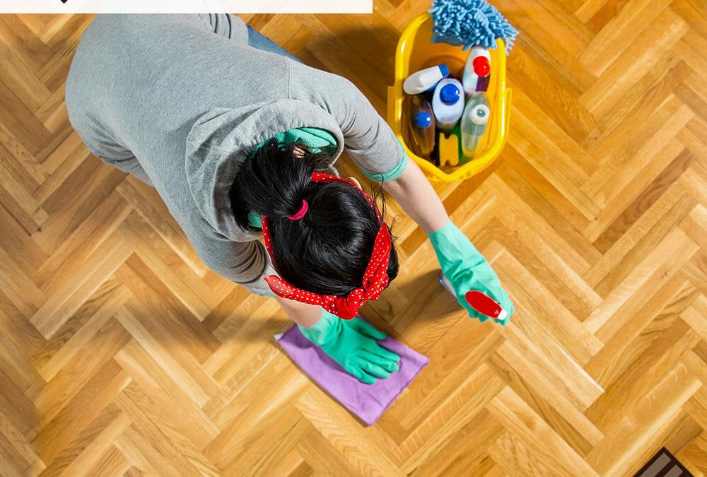 Houston Cleaning Hardwood Floors Services