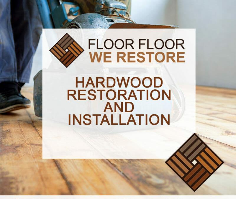 Hardwood floor restoration and installation