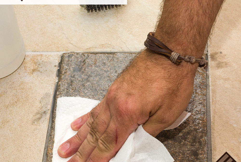 How to Clean Grout- Using Hydrogen Peroxide and Baking Soda