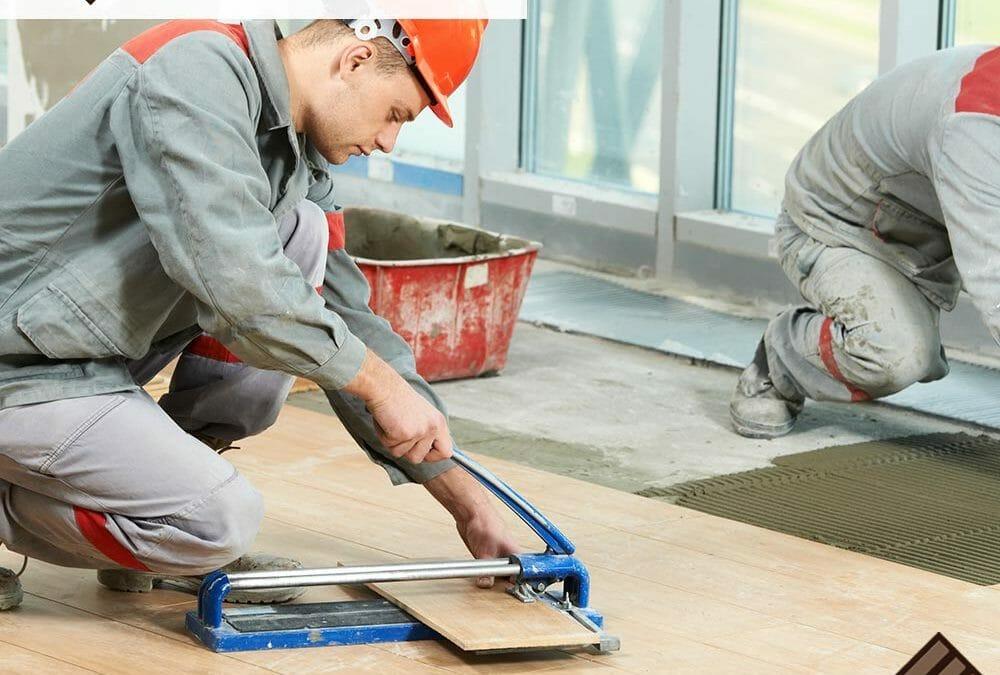How to repair original tiled floors