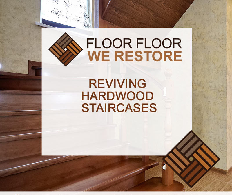 Reviving Hardwood Staircases