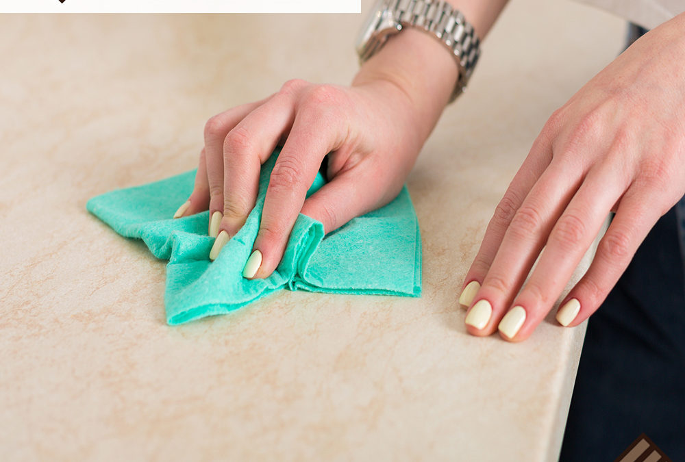 How to Clean Any Kitchen Countertop