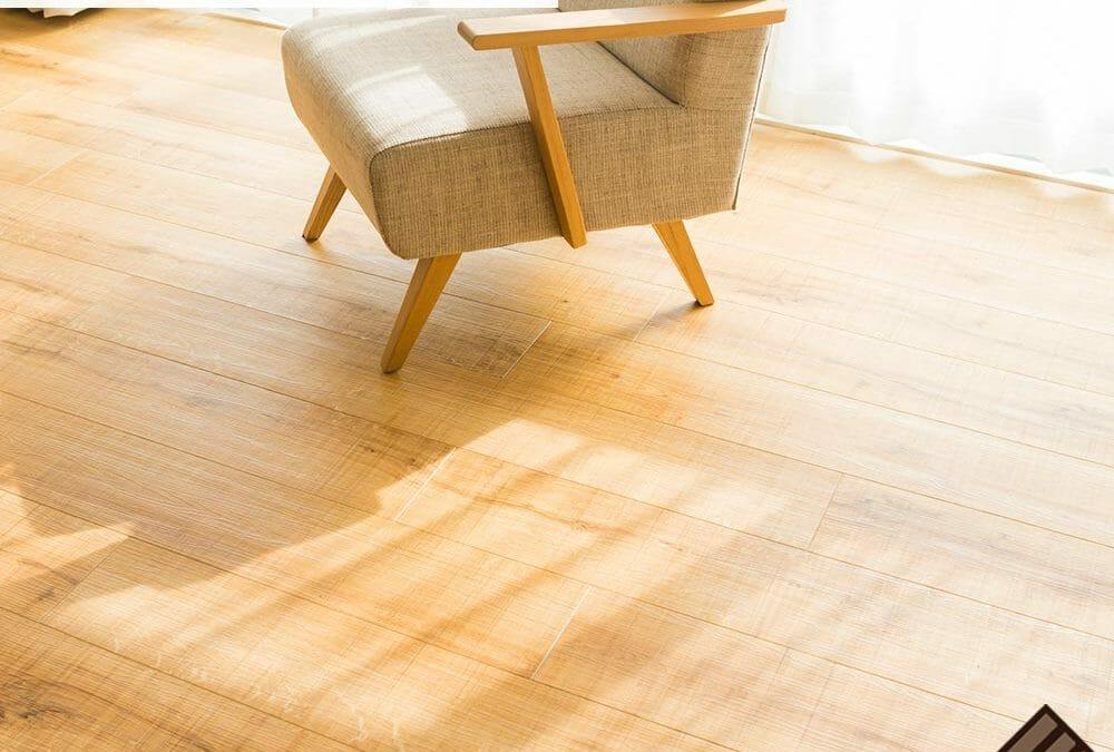 Wood Floors Exposed to Sunlight