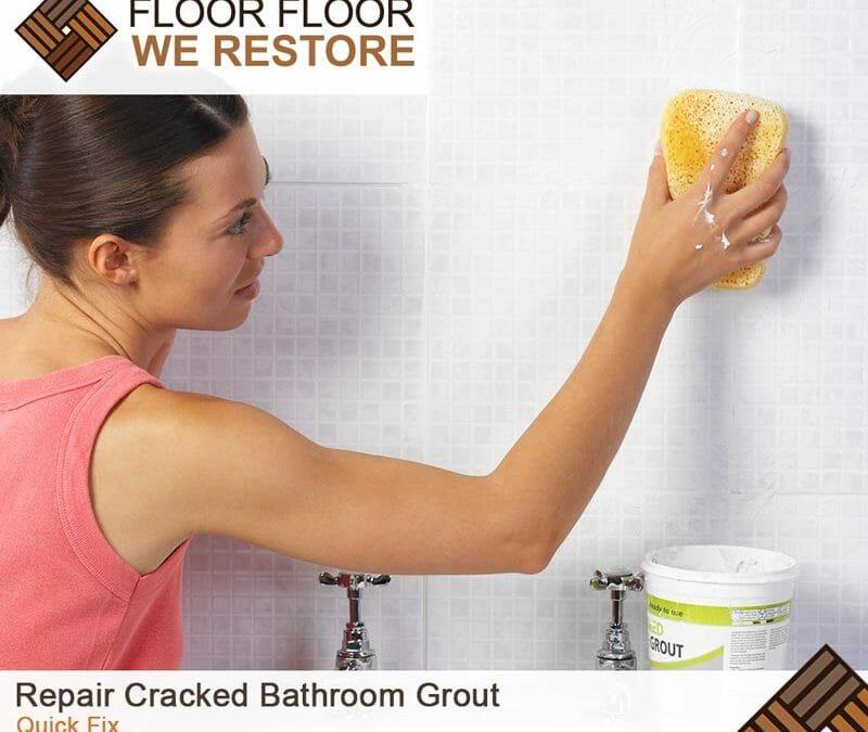 Repair Cracked Bathroom Grout