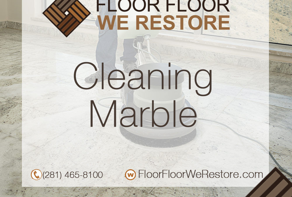 Cleaning Marble