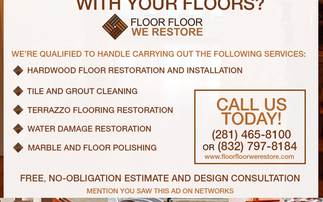Do You Have any Problems with your Floors