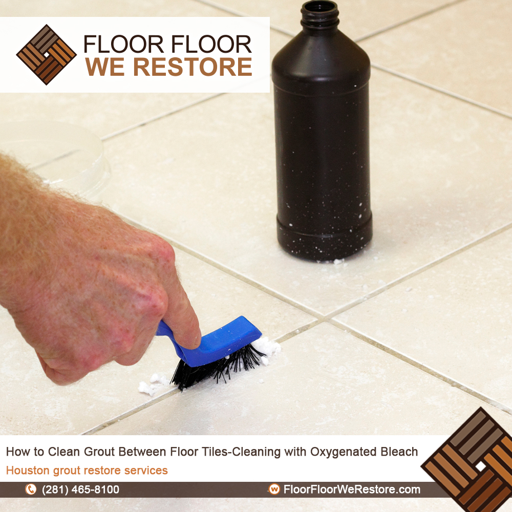 How To Clean Grout Between Floor Tiles Cleaning With